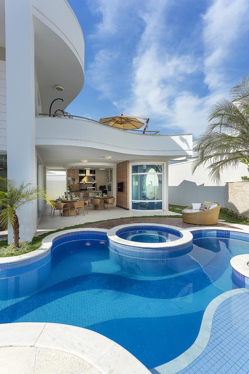 Arquiteto Aquiles Nícolas Kílaris - Casa Antúrio - piscina