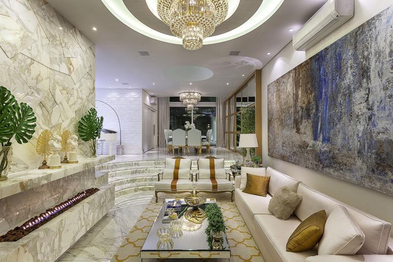 Arquiteto Aquiles Nícolas Kílaris - projeto arquitetonico Casa Real - living