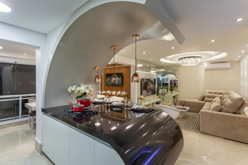 Arquiteto Aquiles Nícolas Kílaris - AP Chanel - cozinha 2