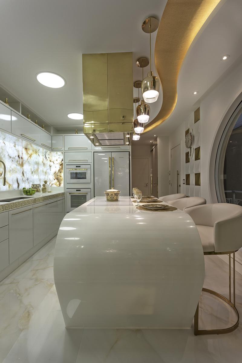 Aquiles Nícolas Kílaris - Casa Versace - cozinha 1