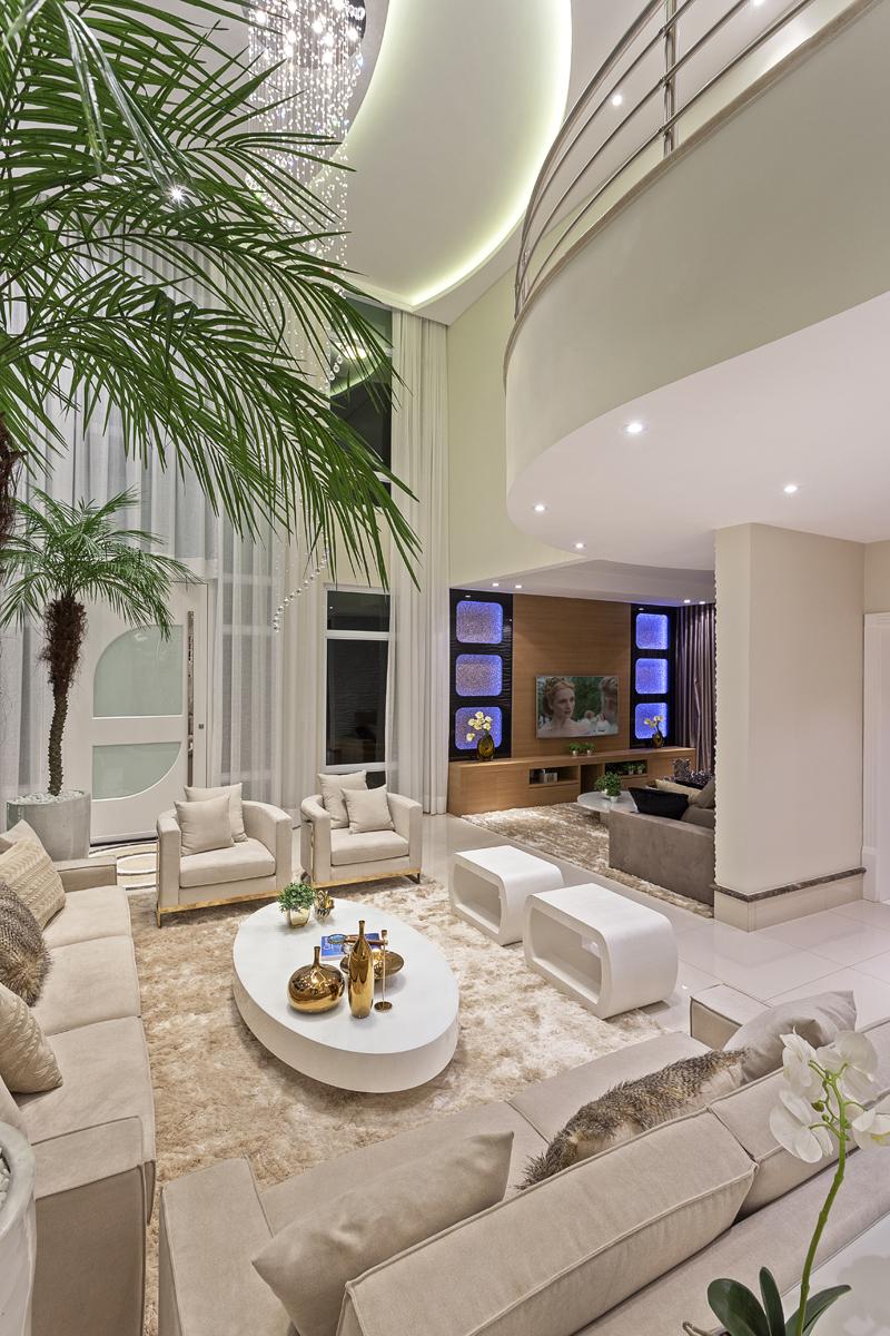 Arquiteto Aquiles Nícolas Kílaris - Casa Antúrio - living 1