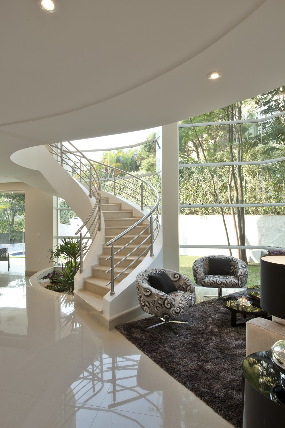 Aquiles Nícolas Kílaris - Casa Refúgio da Mata - living