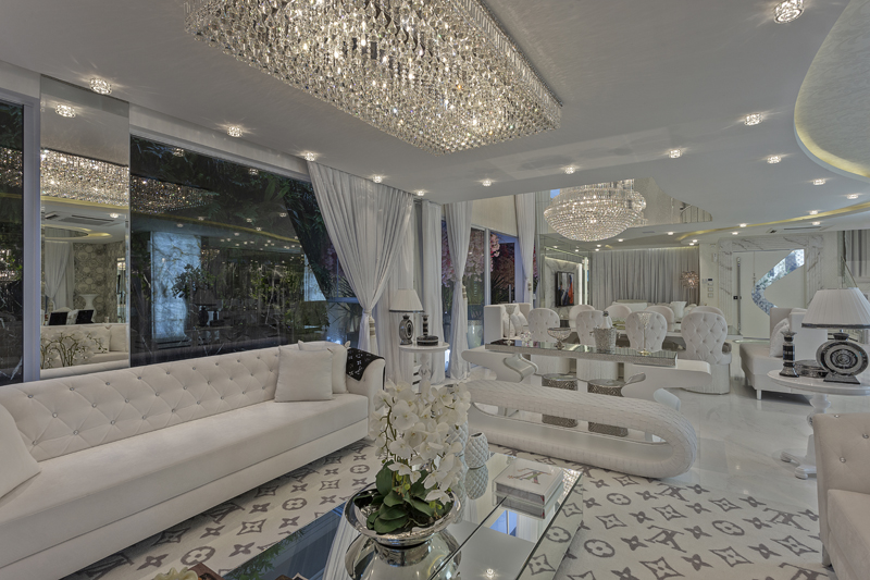 Aquiles Nícolas Kílaris - Casa Versace - living 1
